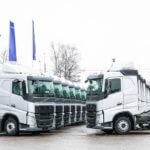 Первые 20 Volvo FH  пополнили автопарк БЛГ Логистик