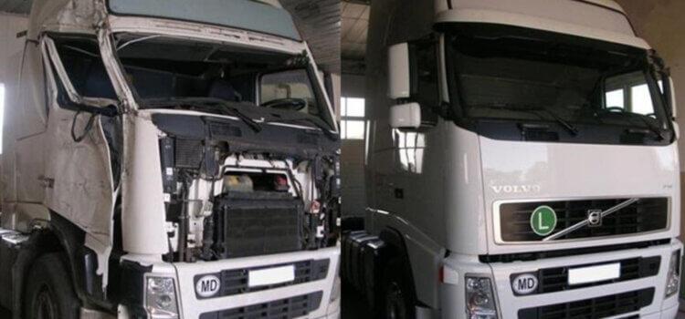 Ремонт кабин грузовиков